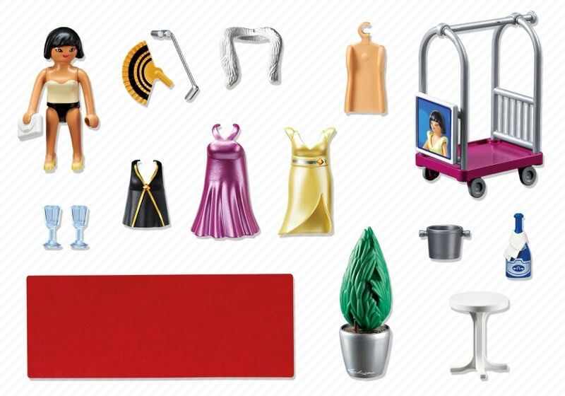 Playmobil 6150 - Red Carpet Fashionista - Back