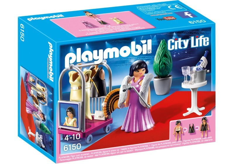 Playmobil 6150 - Red Carpet Fashionista - Box
