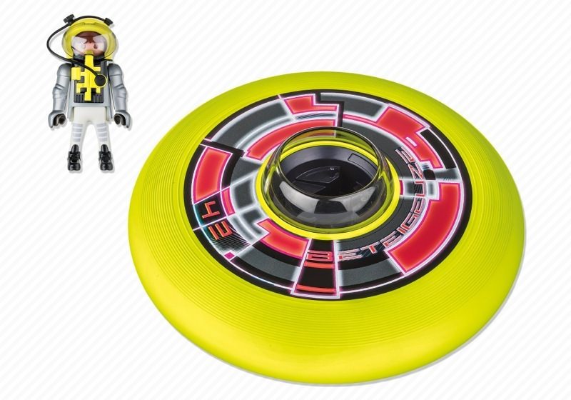 ... Playmobil 6183 - Cosmic Flying Disk with Astronaut - Back