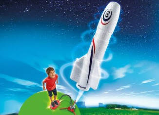 Playmobil - 6187 - Rocket with Launch Booster
