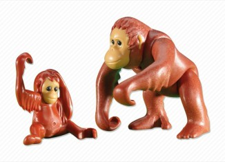 Playmobil - 6200 - Orangutan with Baby