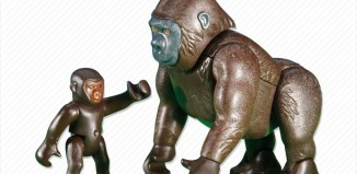 Playmobil - 6201 - Gorilla with Baby