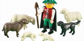 Playmobil - 6204 - Shepherd with Flock of Sheep