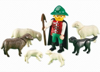 Playmobil - 6204 - Shepherd with Flock of Sheep