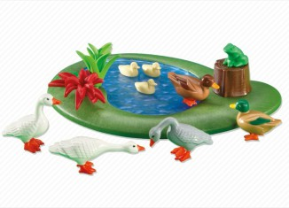 Playmobil - 6205 - Duck Pond with Geese