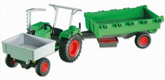 Playmobil - 6212 - Farm Tractor with Trailer