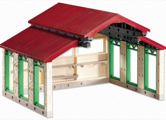 Playmobil - 6213 - Vehicle Shed