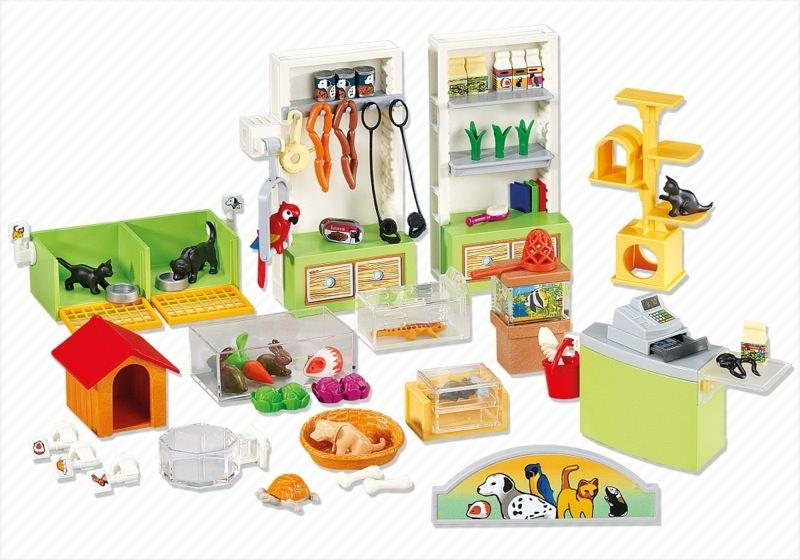 playmobil set 6221 pet store interior klickypedia