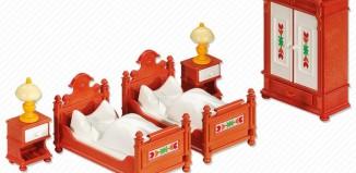 Playmobil - 6222 - Bedroom Furniture Set