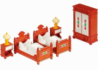 Playmobil - 6222 - Bedroom Furniture Set