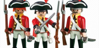 Playmobil - 6229 - 3 redcoat soldiers