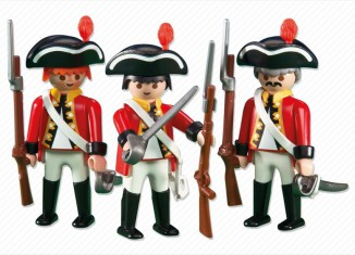 Playmobil - 6229 - 3 redcoat soldiers
