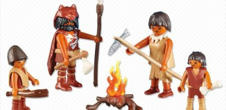 Playmobil - 6242 - Stone Age Family