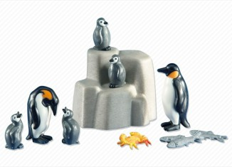 Playmobil - 6259 - 2 Emperor Penguins with Babies
