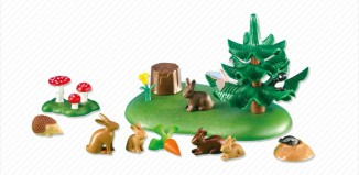 Playmobil - 6264 - Small Woodland Animals