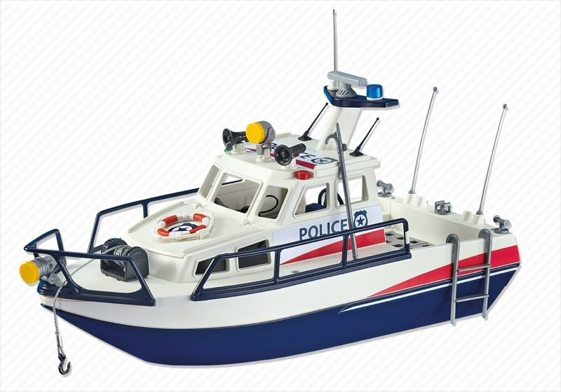 Playmobil polizeiboot