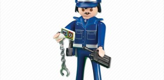 Playmobil - 6284 - Blue police officer