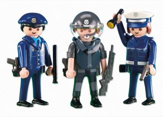 Playmobil - 6285 - 3 blue policeman