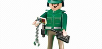 Playmobil - 6286 - Green police officer