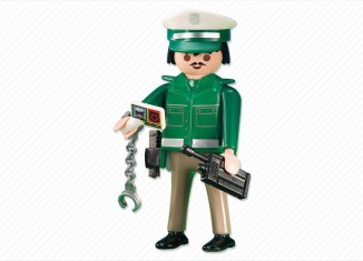 Playmobil - 6286 - Green police officer
