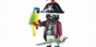 Playmobil - 6289 - pirate captain with parrot