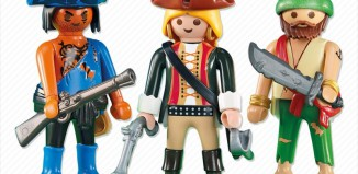 Playmobil - 6290 - 2 pirates with a piratin