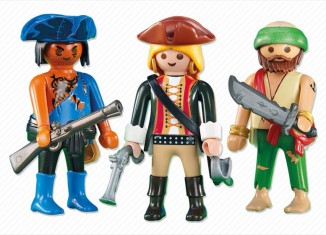 Playmobil - 6290 - 2 pirates with a piratin