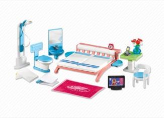 Playmobil - 6297 - Zimmereinrichtung Großes Ferienhotel