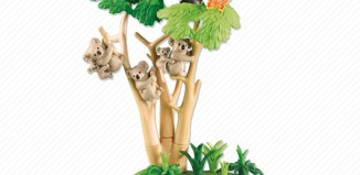 Playmobil - 6313 - Koala Bears with Eucalyptus Tree