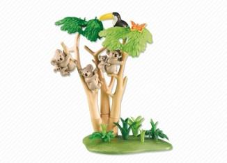 Playmobil - 6313 - Koala Bears with Eucalyptus Tree