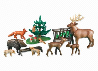 Playmobil - 6316 - Forest Animals