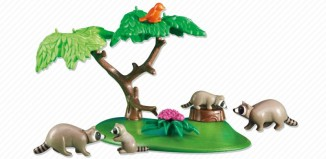 Playmobil - 6317 - Raccoon Family