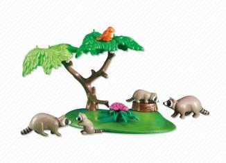 Playmobil - 6317 - Raccoon Family