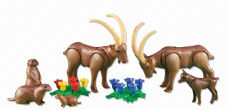 Playmobil - 6318 - Alpine Animals