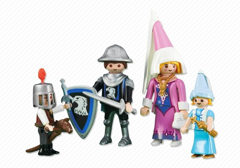 Playmobil set 6324 knight family klickypedia for Playmobil caballeros