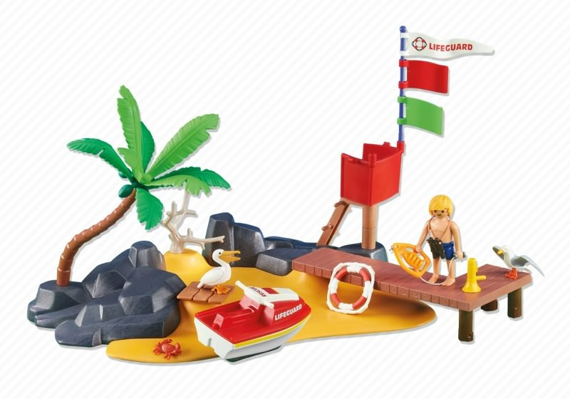 playmobil 6346 lifeguard with jet ski