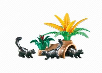 Playmobil - 6358 - Striped Skunks