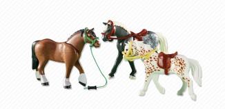 Playmobil - 6360 - 3 Horses