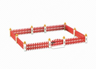 Playmobil - 6363 - Fence extension for animal clinic