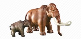Playmobil - 6366 - Mammoth with calf
