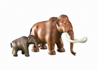Playmobil - 6366 - Mammoth with calf