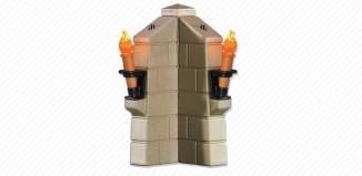 Playmobil - 6370 - 2 Leuchtfackel-Module