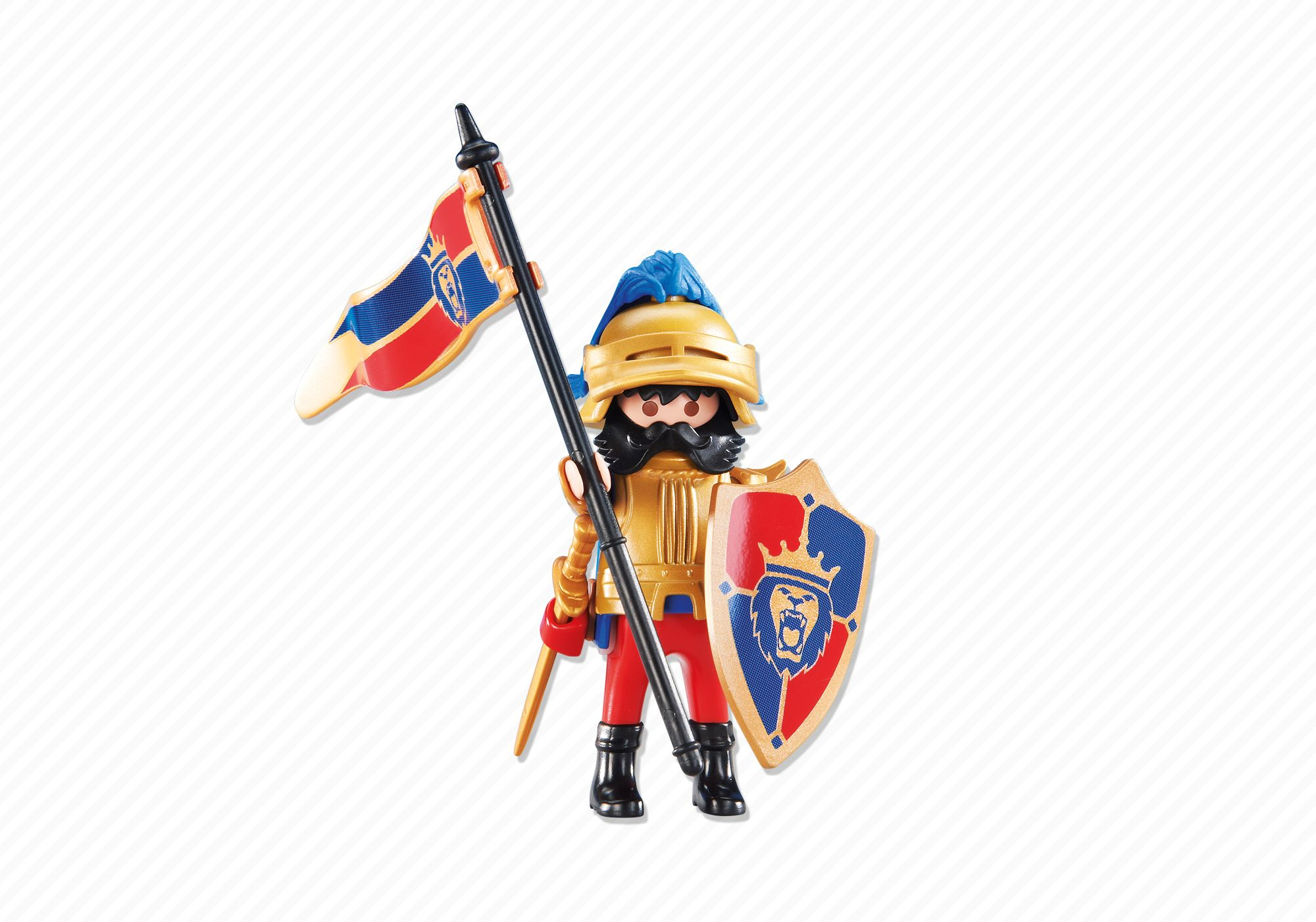 Playmobil set 6380 leader of the lion knights klickypedia for Playmobil caballeros