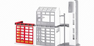 Playmobil - 6385 - Fire station extension