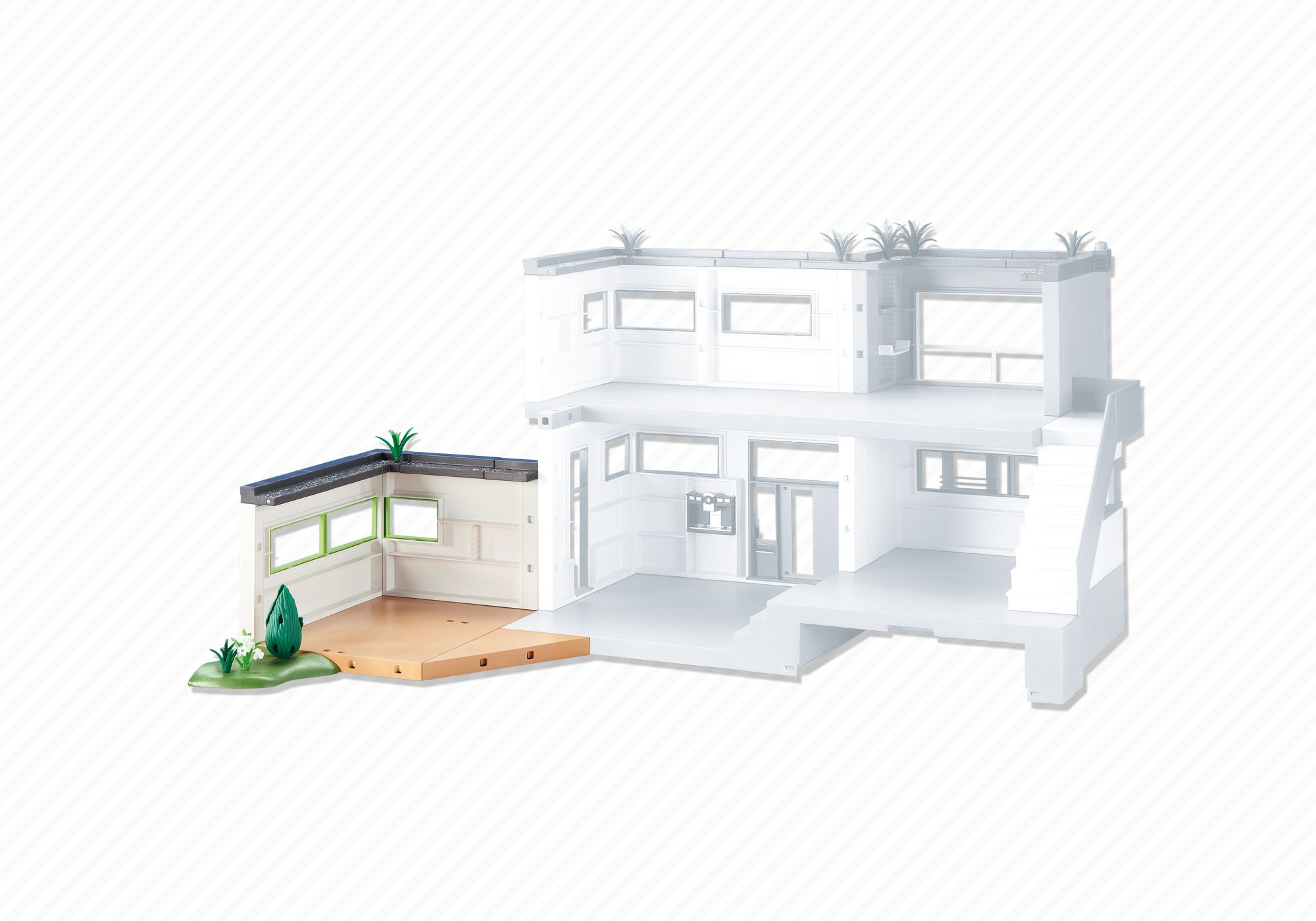 playmobil set 6389 extension for modern luxury mansion klickypedia
