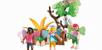 Playmobil - 6398 - 3 Fairy Children