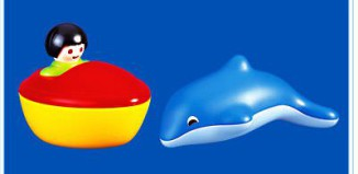 Playmobil - 6408 - Dolphin With Boat