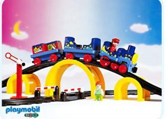 Playmobil - 6606 - Figure 8 Train Set