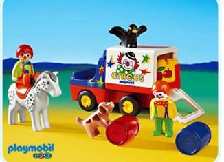 Playmobil - 6621 - 1.2.3 Circus