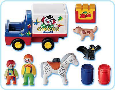 Playmobil 6621 - 1.2.3 Circus - Back